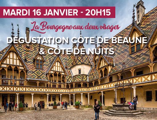 DÉGUSTATION CÔTE DE BEAUNE & CÔTE DE NUITS