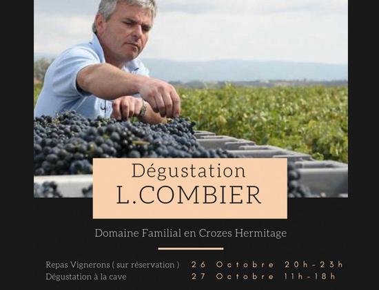 Repas Vignerons Laurent Combier